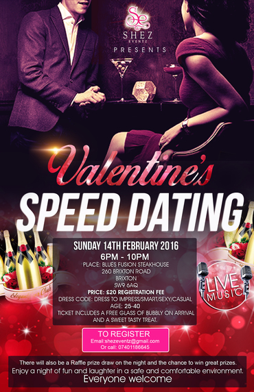 Black speed dating london