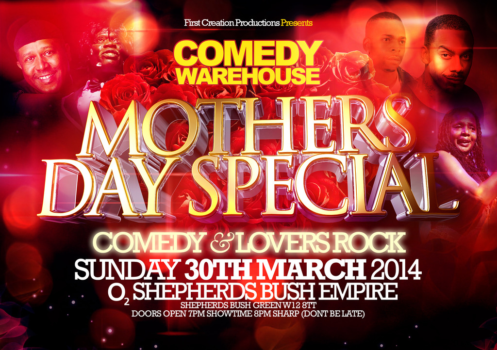 Mother Day Special tickets Shepherds Bush Empire | Shoobs.com