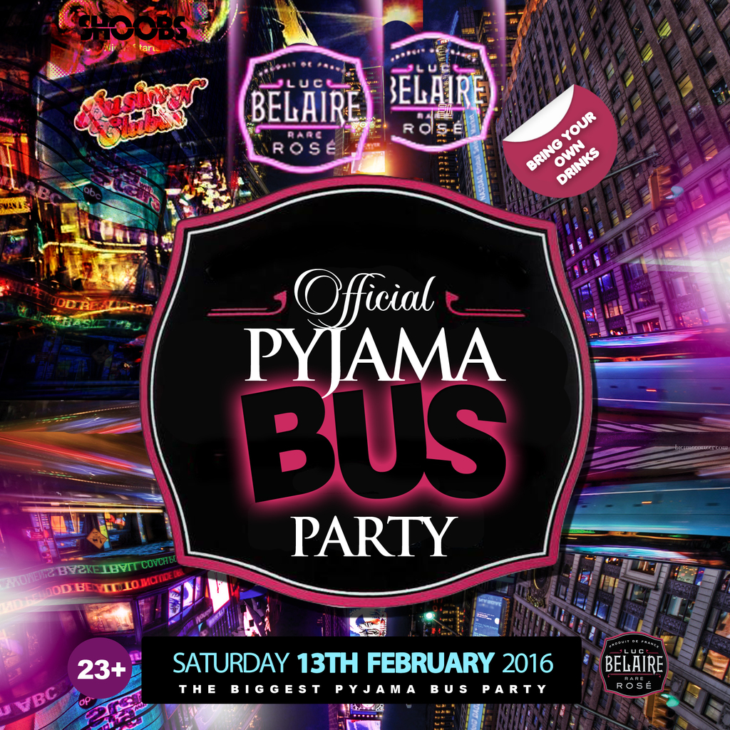 The Official PYJAMA BUS Party! Tickets Oxford Circus