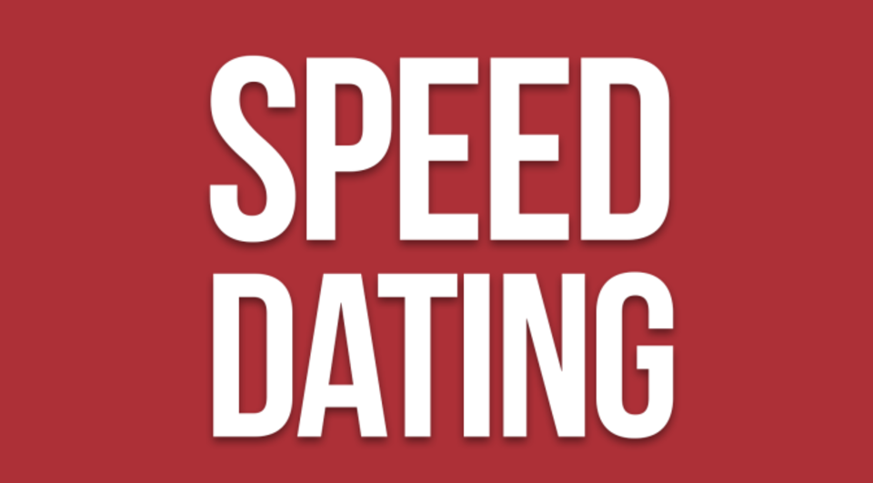 speed dating speech 30 seconds or fewer not much time for a presentation especially for those of us in the south who have a gift for discourse better yet, especially for.