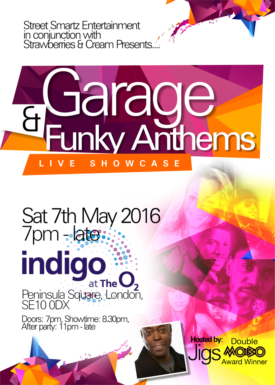 Garage funky anthems live tickets indigo at the o2 for Funky house anthems