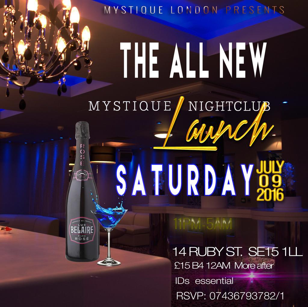 THE ALL NEW MYSTIQUE NIGHTCLUB LAUNCH WEEKEND Tickets Club