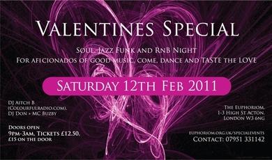 Euphoriom & Manfredo Presents ' Taste' The Valentines Special