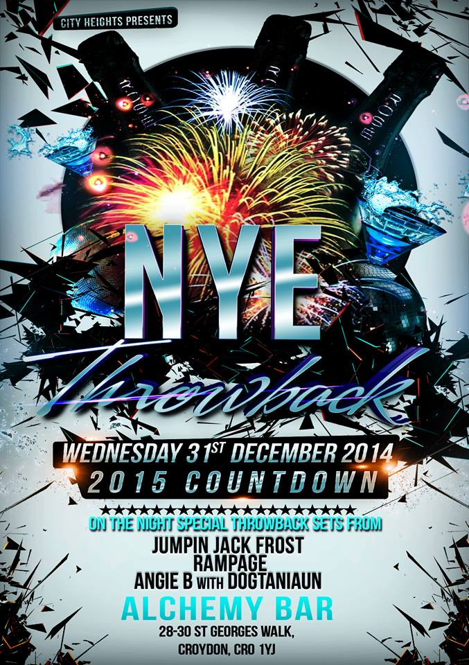 NYE Throwback party with Rampage