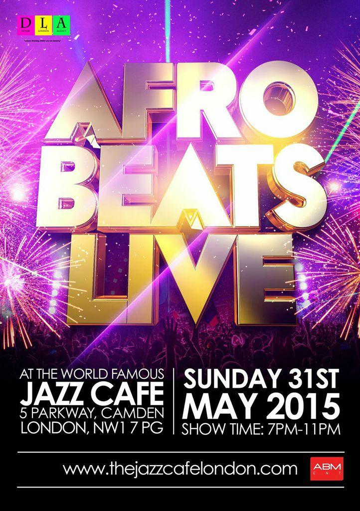 AFROBEATS LIVE @ JAZZ CAFE
