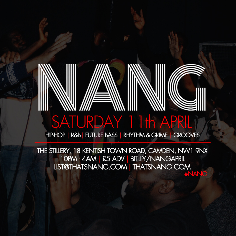 NANG | APRIL | THE STILLERY