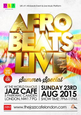 Afrobeats Live (Summer Special)