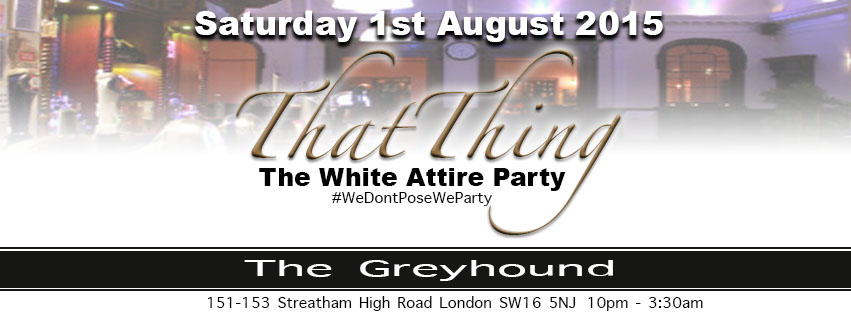 That Thing The White Attire Party 2015