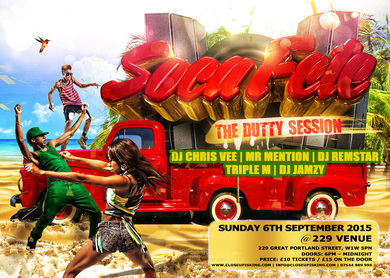 SOCA FETE - THE DUTTY SESSION