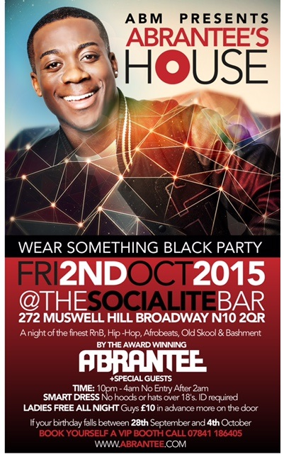 ABRANTEE'S HOUSE PARTY