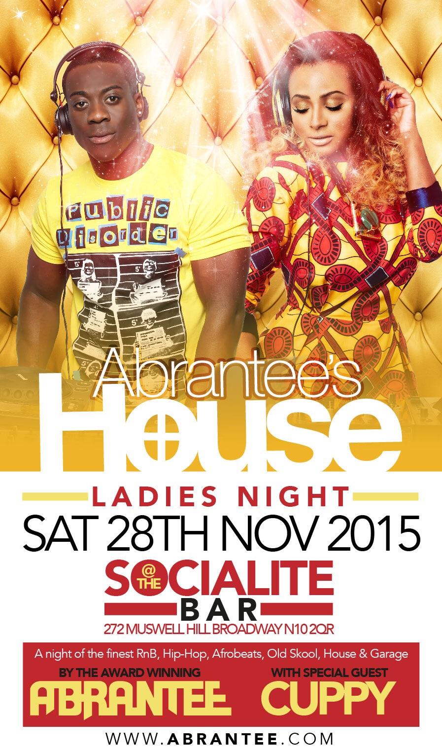 Abrantee's House Ladies night !!!!