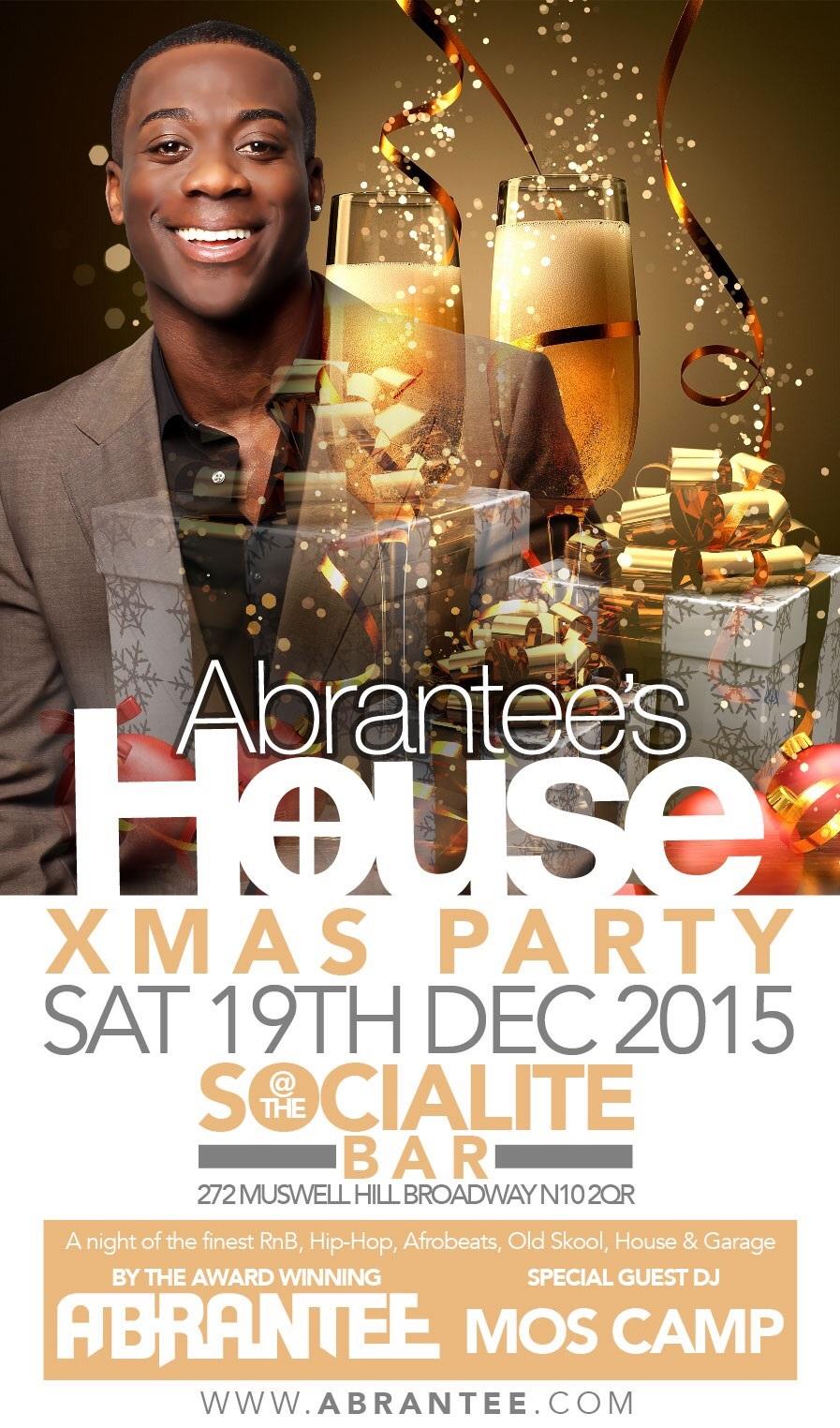 Abrantee's house  Xmas Party