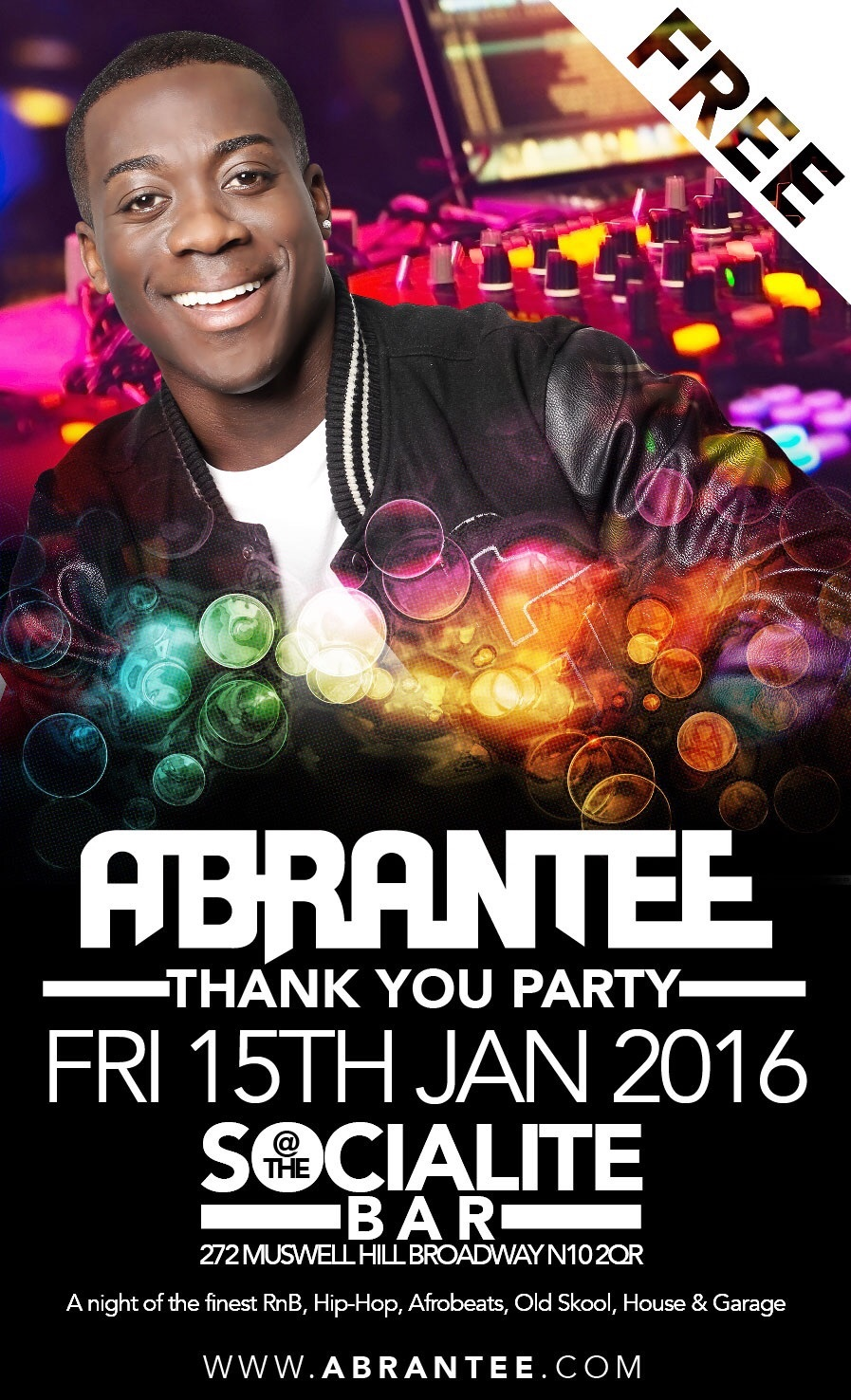 ABRANTEE  FREE THANK YOU PARTY