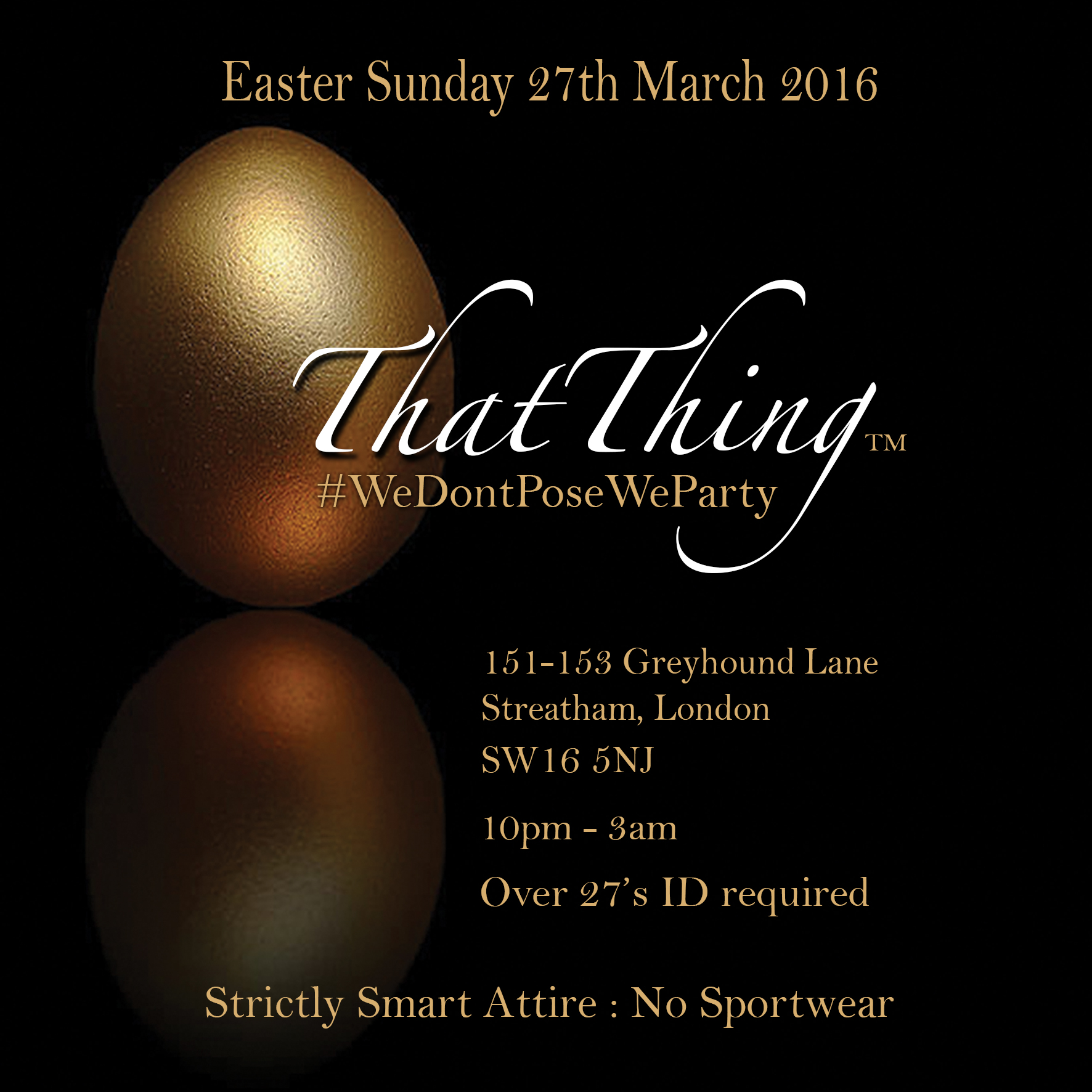 ThatThing Easter Sunday 27th March 2016