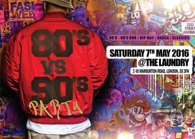 80's vs 90's Party   RNB | HIP HOP | RAGGA |