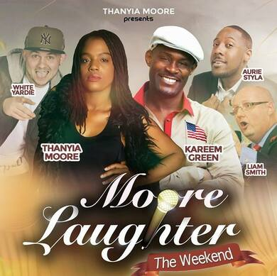Moore Laughter - London WITH AFTER PARTY!
