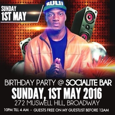 Mictizzle's Birthday Party @ Afrobeat Sundays