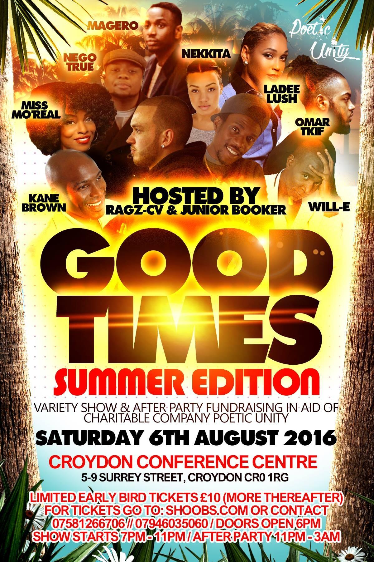 Good Times 'Summer Edition'