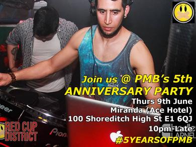 PMB's 5th Anniversary Party #5YEARSOFPMB