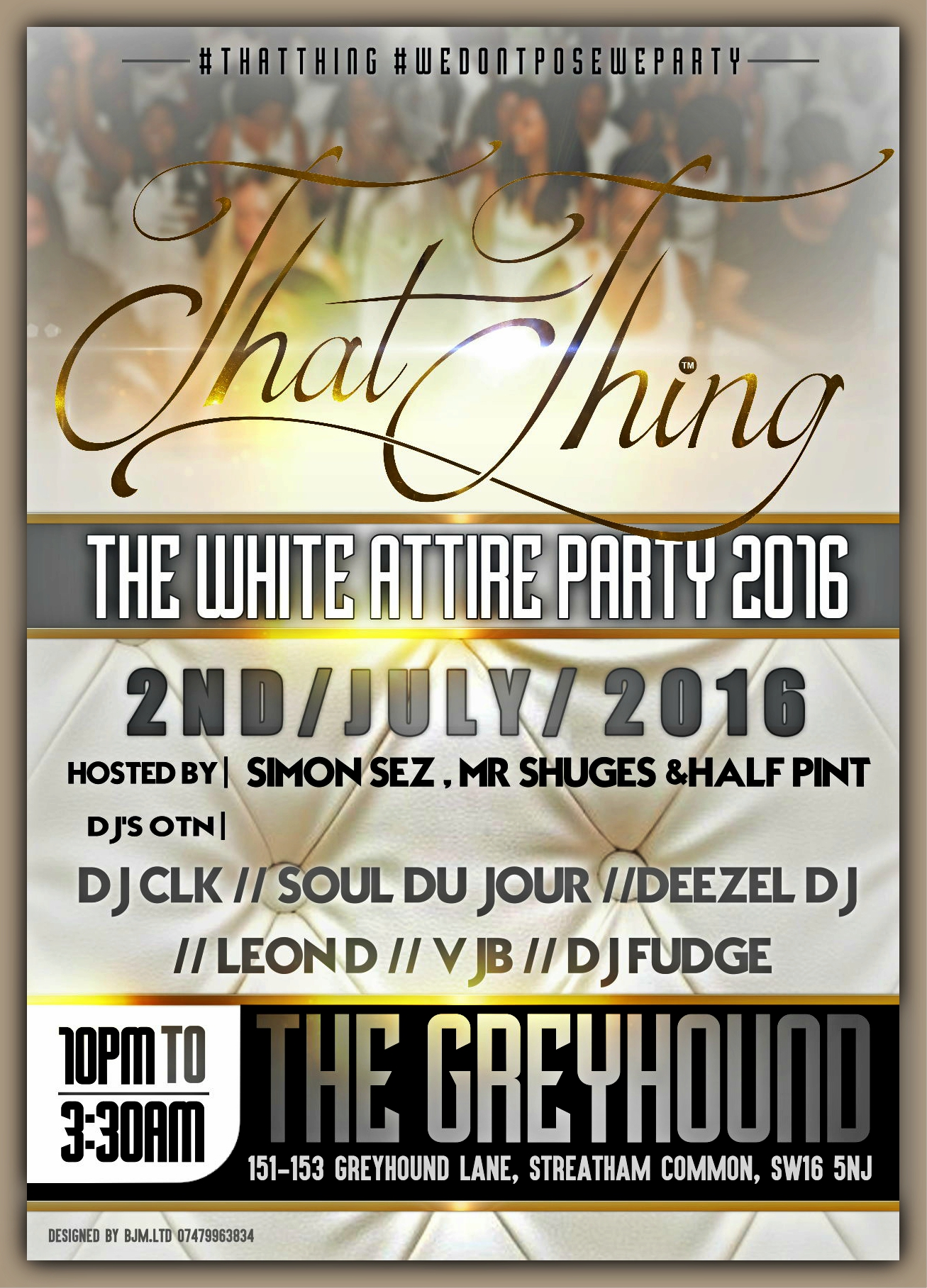 ThatThing The White Attire Party 2016