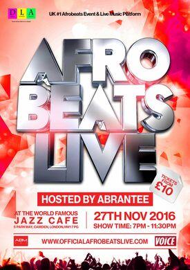 Afrobeats Live (Winter Edition)