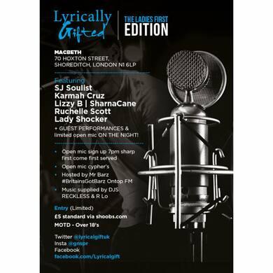 Lyrically Gifted Ladiesfirst Edition
