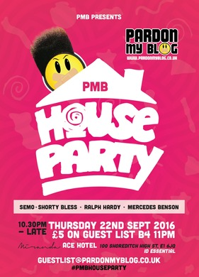Pardon My Blog's House Party (90's Hip Hop)