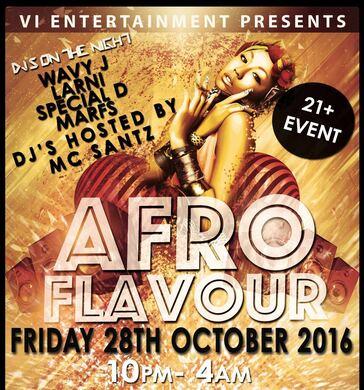 AfroFlavour: Afrobeats Halloween Special