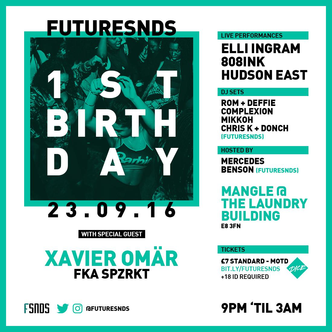 FutureSNDS 1st Birthday