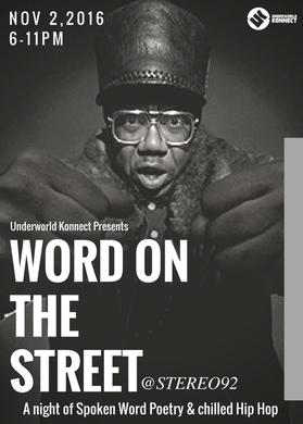 Word On The Street- Jonzi D & Zena Edwards