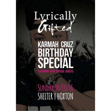 Lyrically Gifted Karmah Cruz Birthday special