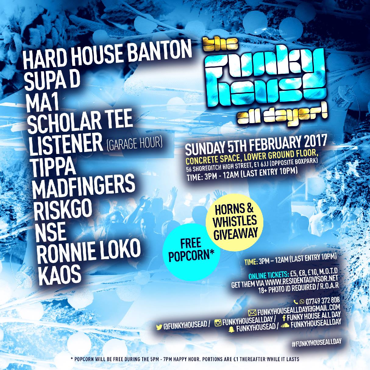 The Funky House All Dayer