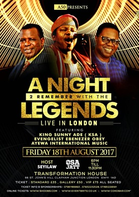 A Night 2 Remember with the Legends