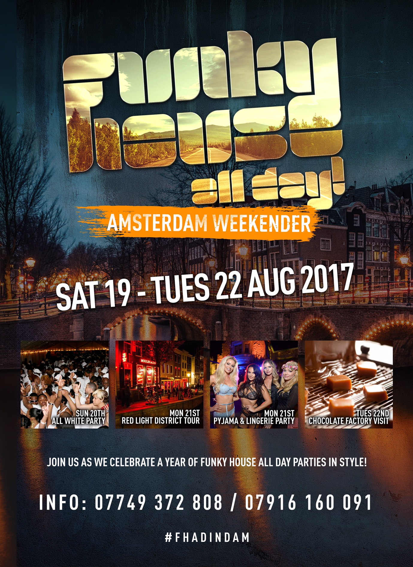 Funky House All Day Amsterdam Weekender