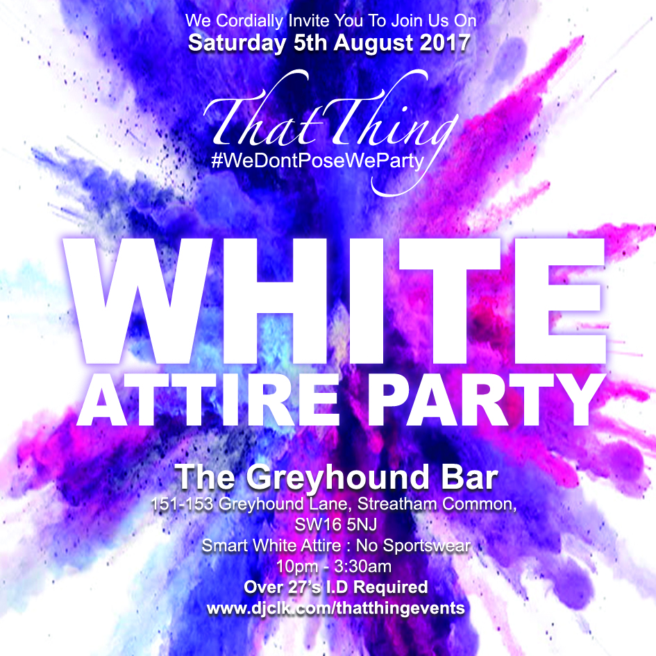 ThatThing The White Attire Party 2017