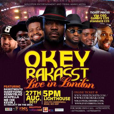OKEY BAKASSI LIVE IN LONDON