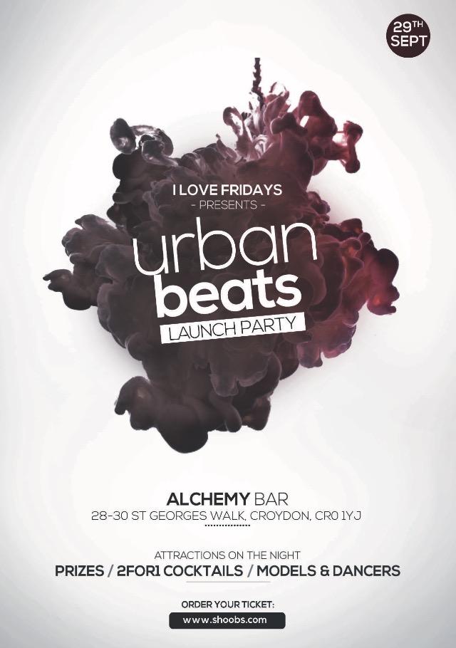 Urban Beats LAUNCH PARTY!