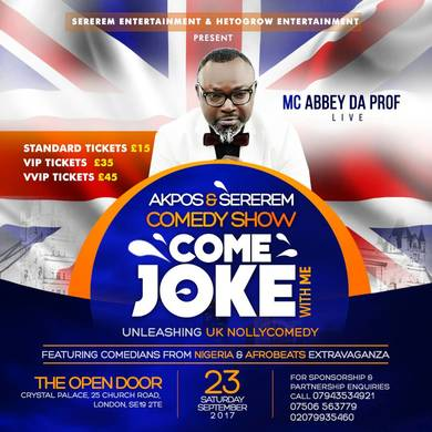 AkposUK & Sererem Comedy: Come Joke With Me