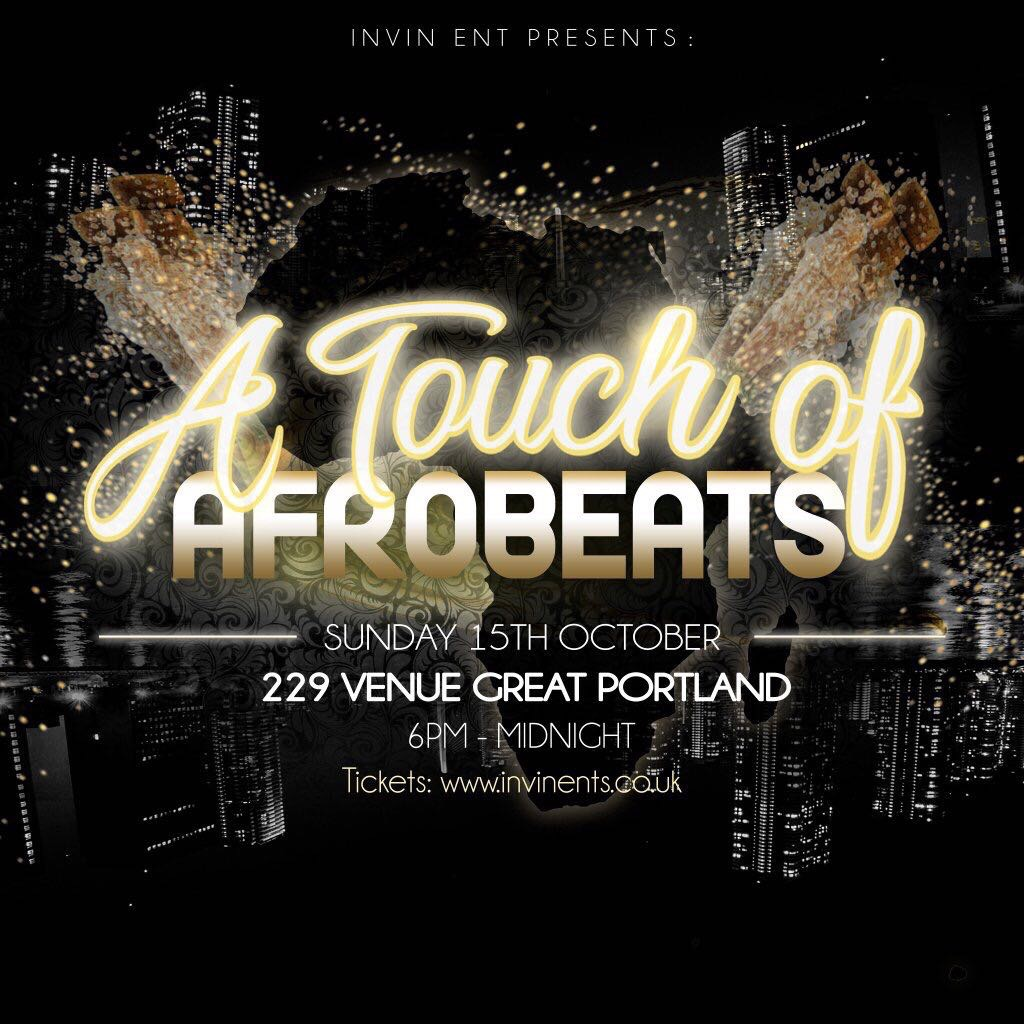 A Touch Of Afrobeats