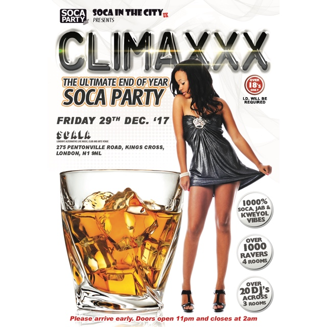 Climaxxx- The Ultimate End Of Year Soca Party