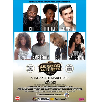 As Good As It Gets - Comedy Show & Live Music