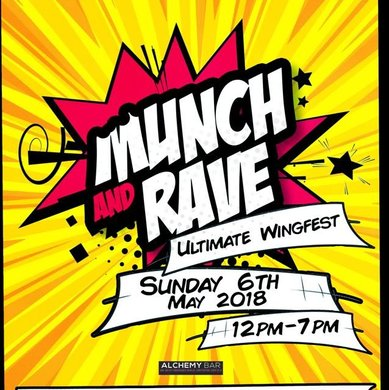 Munch & Rave Ultimate Wingfest Daytime Party