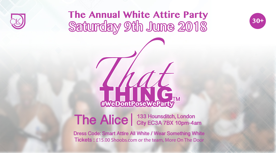 ThatThing The White Attire Party 2018