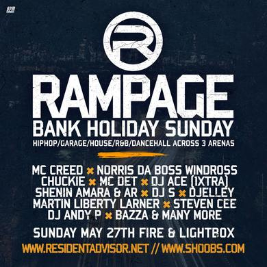 Rampage Sound Bank Holiday - Fire & Lightbox