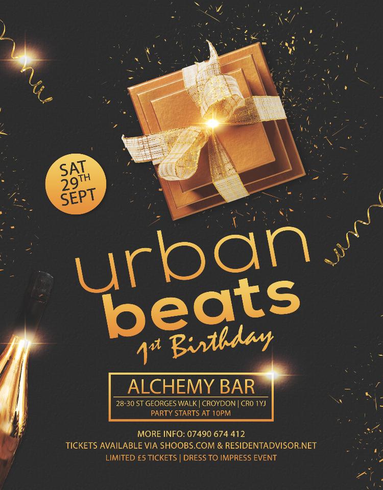 Urban Beats 1st Birthday