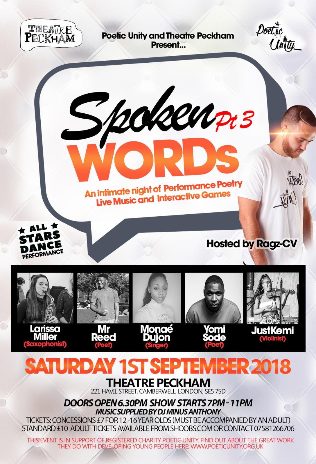 Spoken Words Pt 3