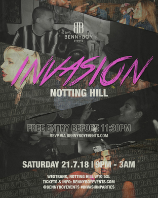 INVASION: Notting Hill