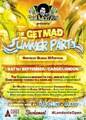 Global12 Festival - AfroCaribbean day Party