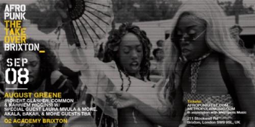 Afropunk Takeover Brixton
