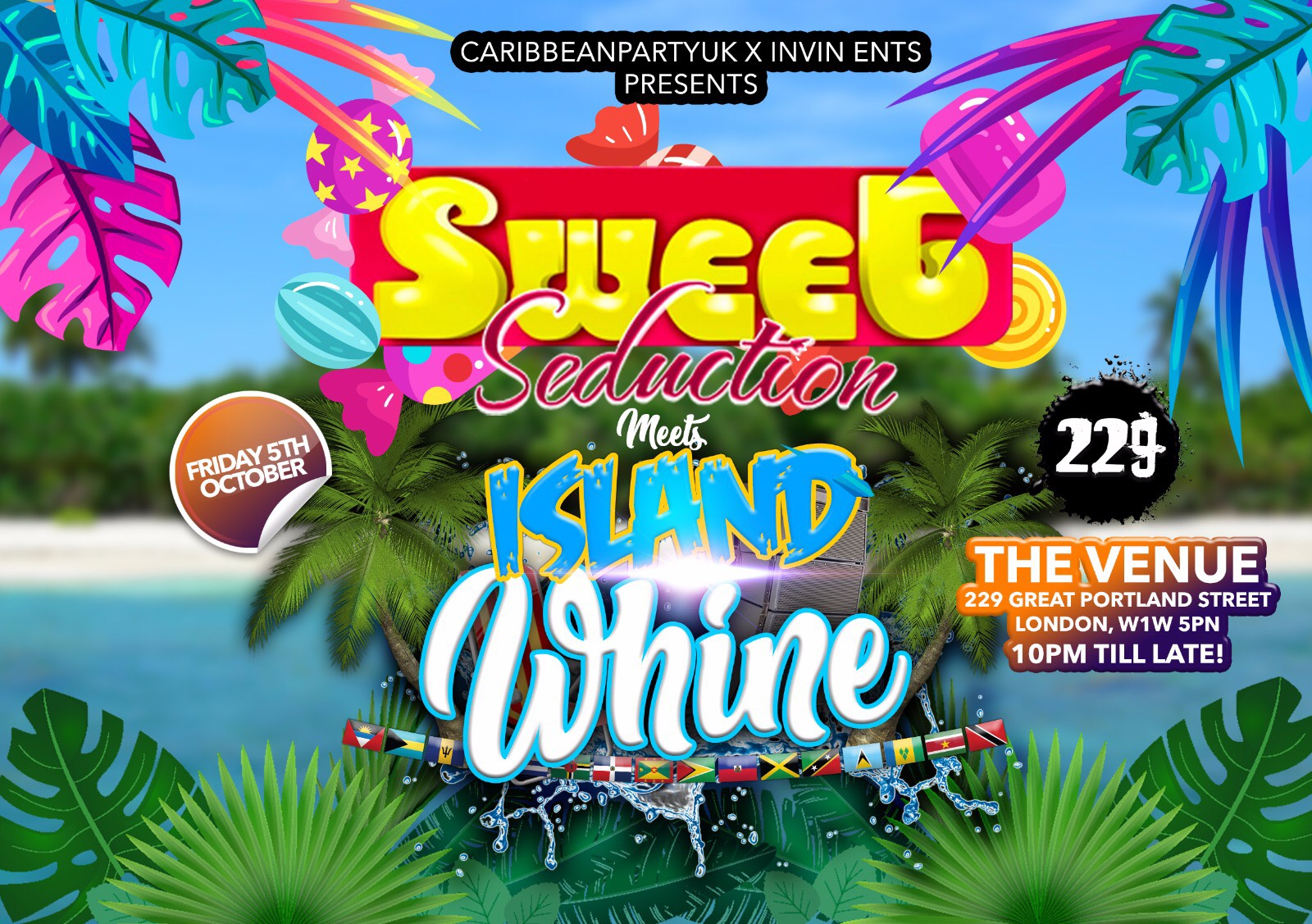 Sweet Seductions meets Island Whine